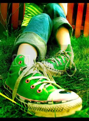 Tenis converse verdes