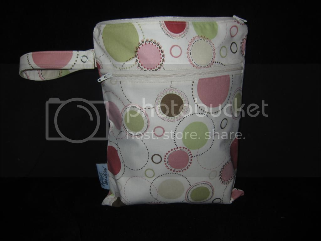 Girly Circles &lt;br&gt; Small Wet/Dry Bag